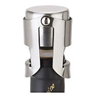 aço champanhe rolha de aço inoxidável garrafa de vinho espumante plugue prata aferidor