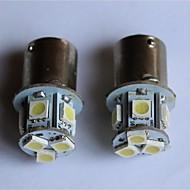 T20/T25/1156/1157 5050-8SMD Car Tail Brake Light Turn Light Reversing lamp Side Marker Light White Red Blue Yellow