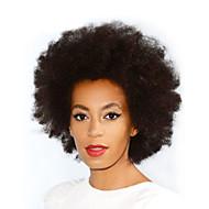 Short Human Hair Wigs Kinky Curly Unprocessed Virgin Brazilian Glueless None Lace Machine Made Human Hair Wigs