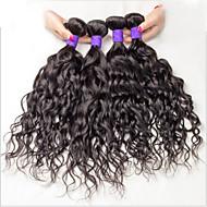 Cabelo Humano Ondulado Cabelo Brasileiro Onda de Água 6 meses 3 Peças tece cabelo