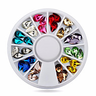 Nail Jewelry-Lovely-Sormi-Akryyli-6cm wheel-1wheel drop tear nail decorations