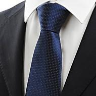 New White Dot Navy Dark Blue Classic Mens Tie Necktie Formal Wedding Gift KT0005