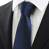 Gravata(Azul,Tricô)Quadriculado
