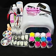 Cartoon-Vinger / Teen-Decoratie kit-Plastic / Metaal / PVC-1set- stuks