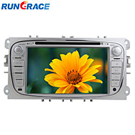 Rungrace 7-inch 2 Din TFT Screen In-Dash Car DVD Player For Ford Focus With Bluetooth,Navigation GPS,RDS