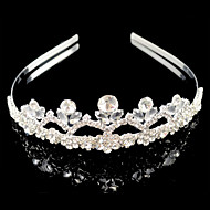 Wedding Bridal Flower Girls Kids Crystal Hair Band Headband Tiara
