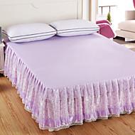 prinsesse sengeteppe seng skjørt madrass støvbeskyttelsesdeksel sengetøy sett