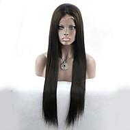 sin procesar peluca de seda recta barato al por mayor línea del cabello 100% natural virginal malasio del pelo humano cordón lleno con el