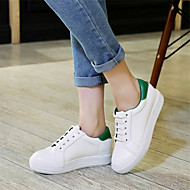 Women's Shoes Platform Platform / Creepers / Round Toe Fashion Sneakers Outdoor / Athletic / CasualBlack / Green / Red /