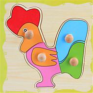 Baby pädagogische Interesse Trompeter Fang aus Holz Puzzle