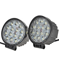"KAWELL® 2 Pack 42W Round 4.5"" DC 9-32V 6000K 2700lm  Off Road LED Spot Light"