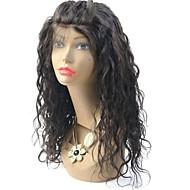 """joywigs brazilský panenský vlasy vlnité krajka přední paruku pro černé ženy gueless krajka přední lidské vlasy paruky 8 """"-24"""""""