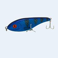 """1 יח ' פיתיון קשיח כחול כהה 76 g/> 1 אונקיה,160 mm/6"""" אינץ ',פלסטיק קשיח / פוליאסטרדיג בים / דיג בחכה / הטלת פיתיון / דיג קרח / Spinning"""