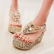 Women's Shoes Heel Wedges / Heels / Platform Sandals / Heels / Clogs & Mules Outdoor / Dress / Casual Silver