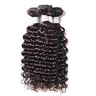 4Bundles 200g 8-26inch Brazilian Deep Wave Hair Extensions,Real Human Remy Virgin Hair Weave