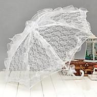 The White Lace  Wedding Umbrella