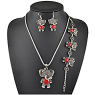 Jewelry Set Women's Anniversary / Engagement / Gift / Party / Daily Jewelry Sets Alloy Turquoise Necklaces / Bracelets / EarringsSilver /