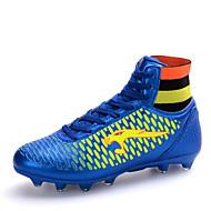 Indoor Court Soccer / Men's / Boy's Soccer Shoes Black / Blue / Gold