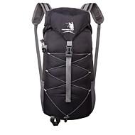 Men Canvas / Nylon Outdoor Backpack / Sports & Leisure Bag-Purple / Blue / Green / Yellow / Black