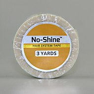 No-shine Bonding Walker Tape 3 Yards to Base Strong Adhesives Glue for Lace Frontal Wig 1.9cm Wide 1 Roll Promotion