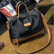 Women Oxford Cloth Casual / Outdoor Shoulder Bag Brown / Black