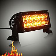 """KAWELL® Off Road 36W 7.5"""" White and Amber Spot Beam Light Bar Fog Light"""