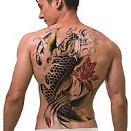 2 Séries de totem Autres Non Toxique Grande TailleHomme Femme Adulte Adolescent Tatouage Temporaire Tatouages temporaires