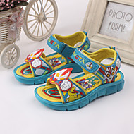 Boy's Sandals Spring / Summer Slingback / Open Toe / Sandals Leather Outdoor / Casual / Athletic Blue / Royal Blue