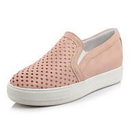 Women's Spring / Fall Round Toe Leatherette Casual Platform Others Black / Pink / White