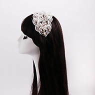 Women's / Flower Girl's Lace / Rhinestone Headpiece-Wedding / Special Occasion / Casual Headbands 1 Piece