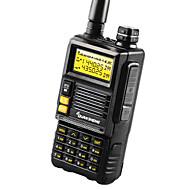 Quansheng TG-45UV Talkie-Walkie 4-5W 2500mAh 400 - 470 MHz / 136 - 174 MHz 2500mAh 3 - 5 kmRadio FM / Alarme d'urgence / Logiciel PC