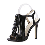 Women's Shoes Leatherette Stiletto Heel Heels / Comfort / Shoes & Matching Bags / NoveltySandals / Heels / Boots /