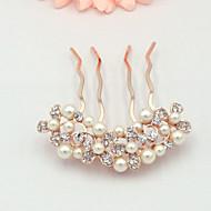 Ženy Imitace perly Přílba-Svatba Zvláštní příležitost Hřebeny na vlasy Jeden díl