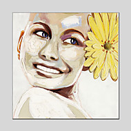 Image Style Canvas Material Oil Paintings with Stretched Frame Ready To Hang Size 70*70CM.