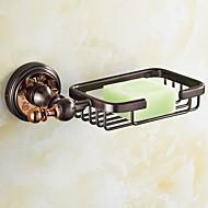 ソープディッシュ グリーン ウォールマウント 8*4.25*1.96 inch 真鍮 ネオクラシック