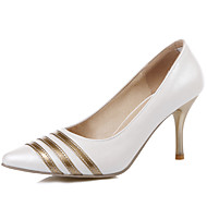 Women's Shoes Stiletto Heel/Pointed Toe Heels Party & Evening/Dress Blue/Pink/Purple/White