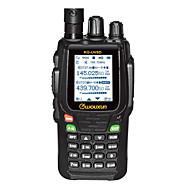 WOUXUN KG-UV8D PLUS Walkie-talkie VHF:5W/UHF:4W 999 400-470MHz / 136-174MHz 1700mAh 3km-5kmFM-radio / Noodgevallen Alarm /