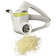 Drum Rotary Cheese Grater Manual Rotary Veggie Shredder
