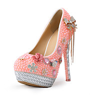 Women's Shoes Stiletto Heel Heels Heels Wedding / Party & Evening / Dress Pink