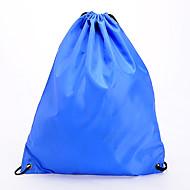 2Pcs Sports/Casual/Outdoor/Travel Shoe Storage Bag Drawstring BackPack Book Bag Rope bag Shoulder Straps(Blue+Black)