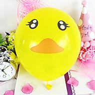 10 hüvelyk aranyos kacsa ballon 100db / set
