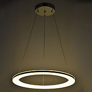 Acrylic LED Pendant Light Ceiling Lamp Lighting for Indoor Dining Room with Round Ring D60CM 20W CE FCC ROHS