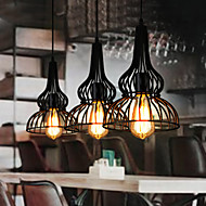 Loft Vintage Pendant Light American Industrial Wind Bar Cafe Bedroom Restaurant Single Head Wrought Iron Droplight