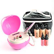 Ophir professionel 0,2 mm luft børste makeup system, der med airbrush fundament for kosmetiske airbrushing