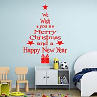 Weihnachten / Worte & Zitate / Feiertage / Formen Wand-Sticker Flugzeug-Wand Sticker,vinyl 43*24cm
