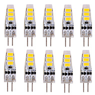 YWXLight® 10 pcs G4 3W 6 SMD 5730 500-700 lm Warm White / Cool White T Decorative LED Bi-pin Lights DC 12 V