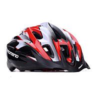 promend® unisex sport kerékpáros sisak / led biztonsági fény 21vents védelmi kört sisak / hegyi / országúti kerékpáros