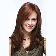 Damen Europa und Amerika Stil mittlerer Länge Licht rotbraunen Welle Mode synthetische Perücken