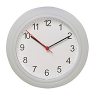 Sweden Round Rusch Wall Clock Home Office Use Bedroom Living Room Kitchen White Color Time Display Watch 25x25cm