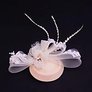 Women's Lace / Rhinestone/ Net Headpiece-Wedding / Special Occasion / Casual / Outdoor Fascinators 1 Piece
